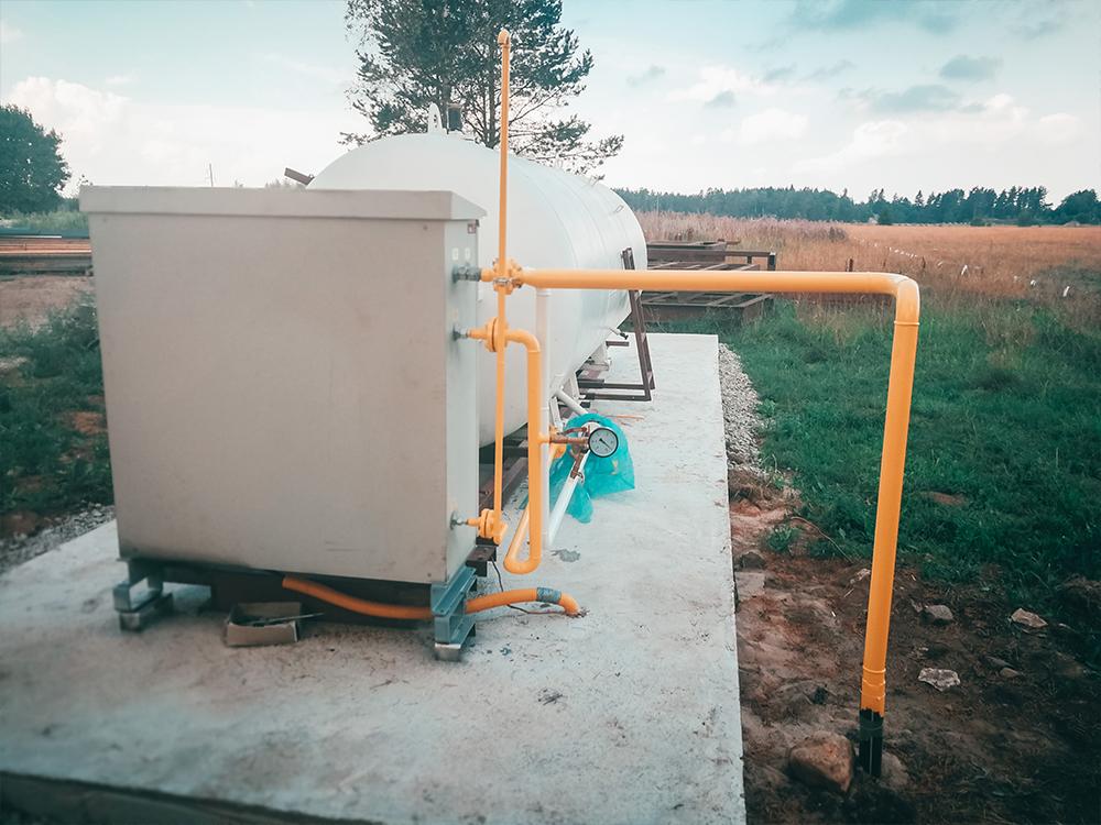 Väliste gaasitrasside rajamine